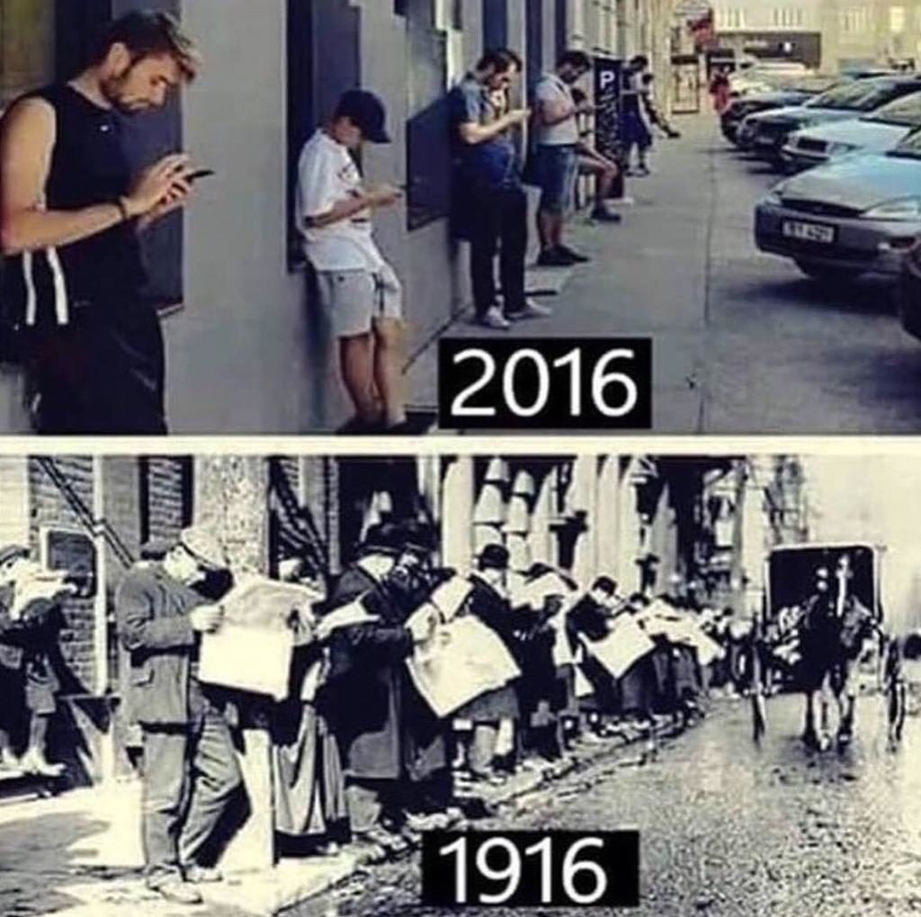 A tecnologia desconecta as pessoas