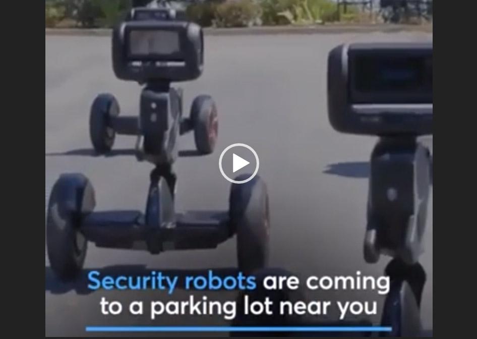 Conheçam os policiais robôs do futuro