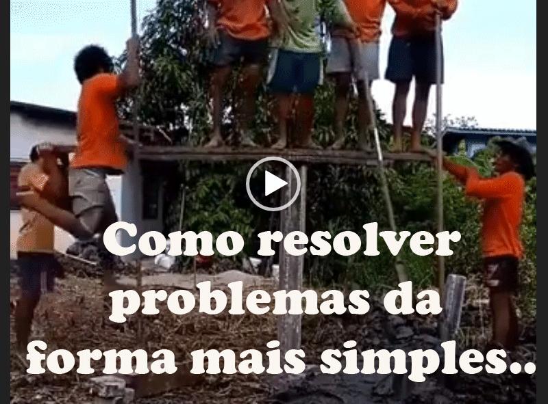 Como resolver problemas da  forma mais simples..