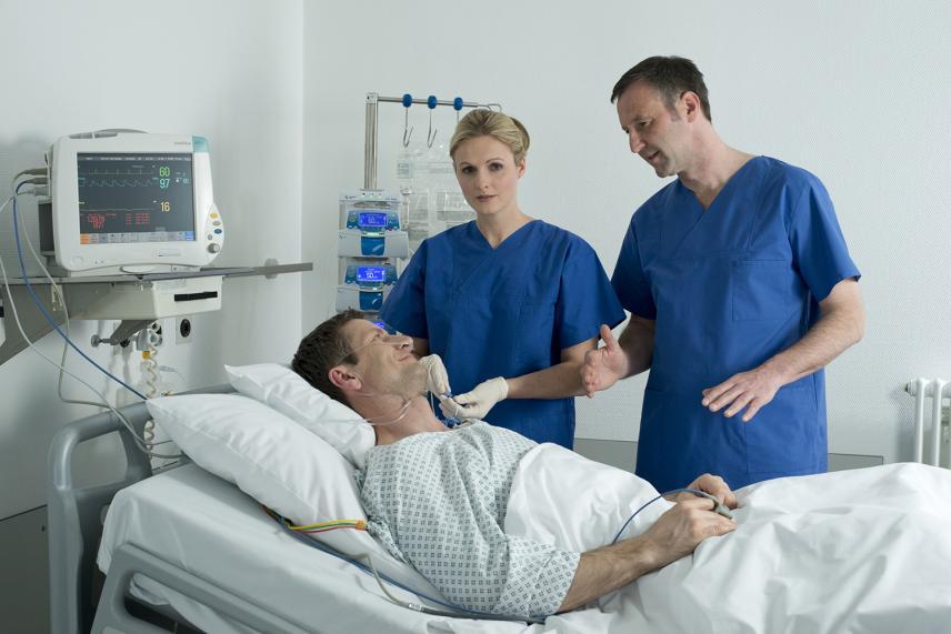 90% dos médicos adotarão tecnologias móveis no leito do paciente.