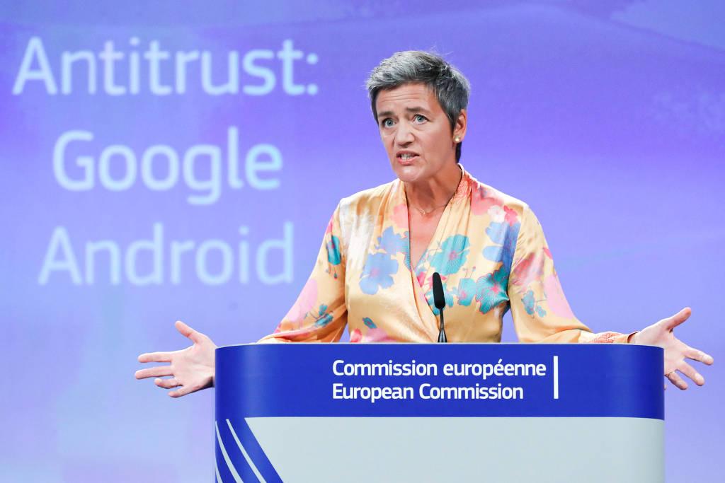 União Europeia multa Google por prática anticompetitiva