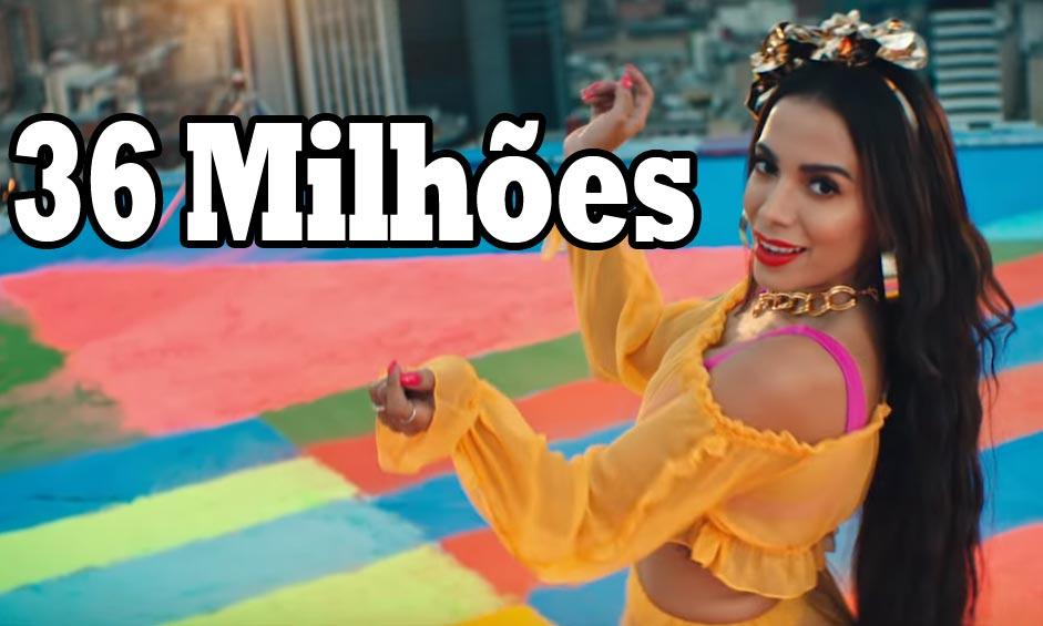 Novo clipe da Anitta viraliza e atinge mais 36 milhões de acessos em menos de um mês