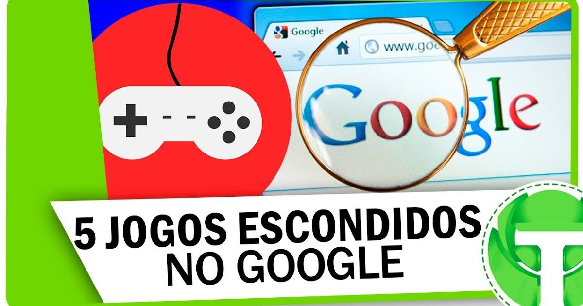 5 games escondidos para jogar direto do buscador do Google