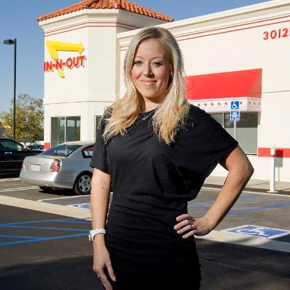 Lynsi Snyder - A CEO de 36 anos que tem 96% de aprovação de seus funcionários