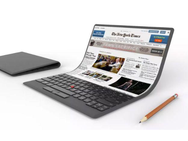 Samsung está trabalhando em telas dobráveis para notebooks