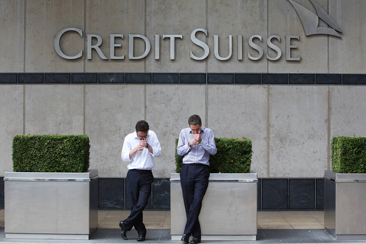 Brasil volta à lista de apostas globais do Credit Suisse