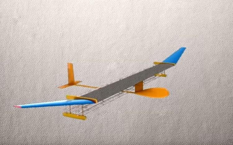 Pesquisadores do MIT criam avião que dispensa combustível ou turbina