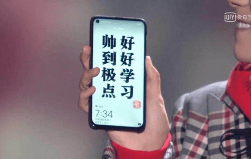 Primeiro smartphone com 'buraco' na tela para a câmera é da Huawei