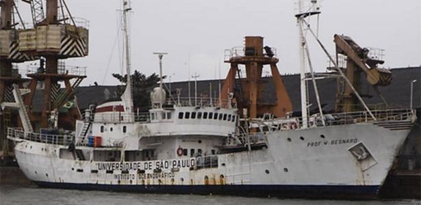 O triste fim do navio pioneiro na Antártida
